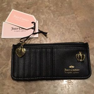 Rare Juicy Couture card holder wallet